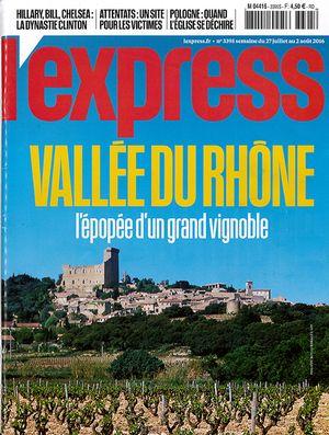 L'Express - Vallée du Rhône L'Epopée d'un grand vignoble