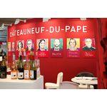 Vinisud : Gemeinschaftsstand Châteauneuf-du-Pape