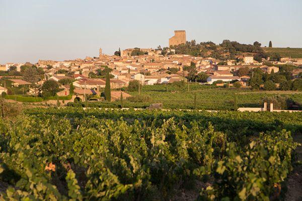 Vue village de Châteauneuf-du-Pape